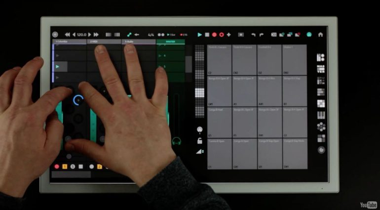 ScreenForge Yeco - Ableton Live Multitouch Controller für Mac und Windows Systeme
