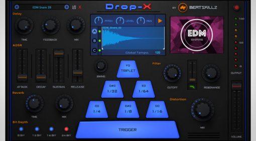 Beatskillz Drop-X - kreativer Sample Shot Mixer für den Live Gebrauch