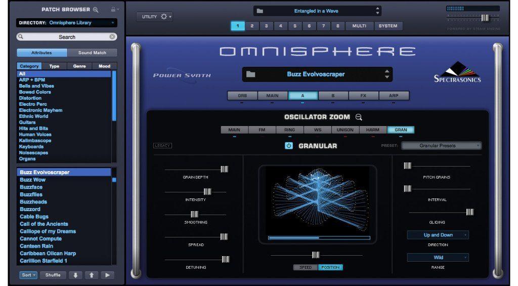 Spectrasonics Omnisphere 2: die Eierlegende Wollmilchsau