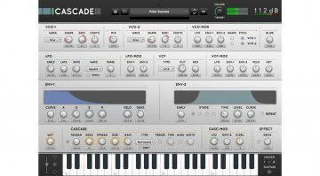 112db Cascade Synthesizer - das Delay macht den Sound