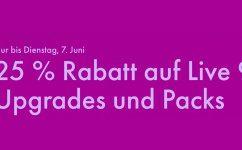 Rabattaktion bei Ableton Live! 25% auf alles, außer auf Tiernahrung…