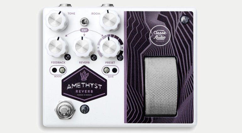 Classic Audio Effects Pedal Amethyst