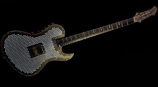 Cyan Empyrean Bariton Gitarre Komplett Front