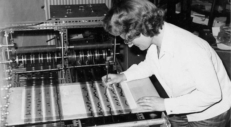 Daphne Oram Oramics 70s Optischer Synthesizer