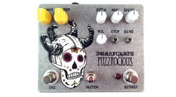 Dwarfcraft Devices Fuzzrocious Pedal Afterlife of Pitch Reverb Front