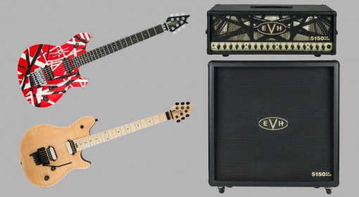 EVH Wolfgang Special 5150 IIIS 100S EL34 Topteil Box 4x12 Front
