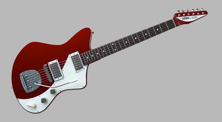 Eastwood Jeff Senn Model One Metallic Red Front