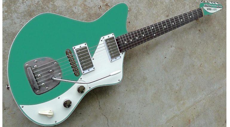 Eastwood Jeff Senn Model One Seafoam Green Front