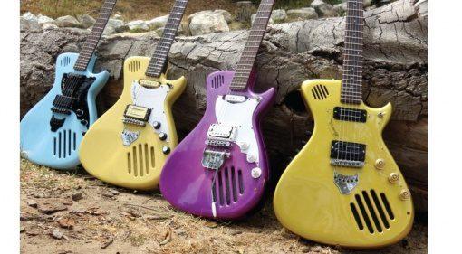 ElectroPhonic Innovations Model One Kickstarter Gitarre Front
