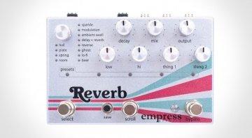 Empress Reverb Pedal Title