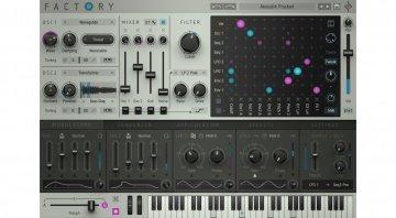 Sugar Bytes Factory - ein virtuell modularer Synthesizer mit vielversprechenden Extras