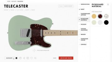 Fender Mod Shop Telecaster Front