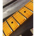 Fraser Guitars Steichholz Strat Gitarre Griffbrett