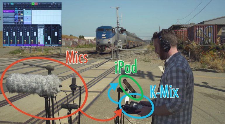 Keith McMillen Instruments KMI K-Mix iOS Update