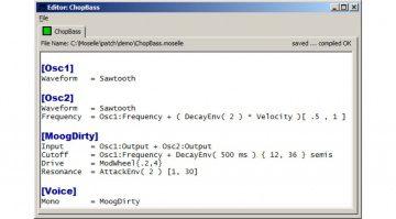 Moselle Software - Programmiersprache statt Patchkabel