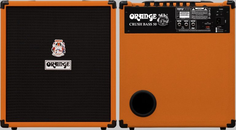 Orange Bass Crush 50 Front Rueckseite