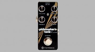 Pigtronix Philosopher's Tone Kompressor Pedal Front