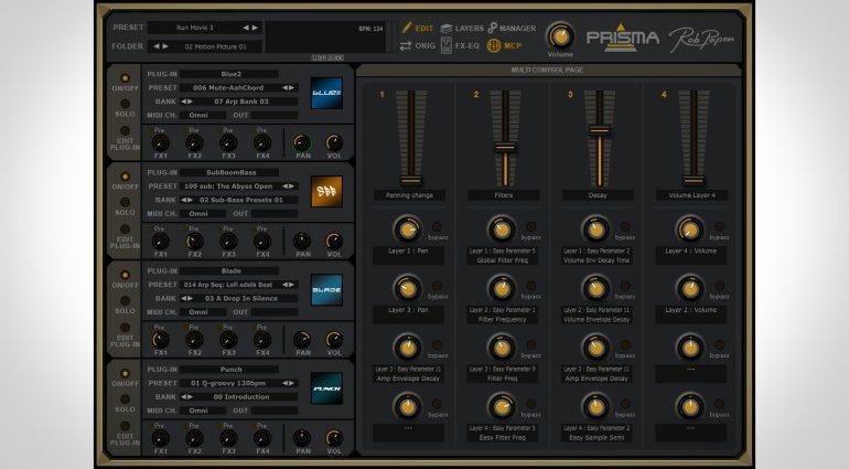 Rob Papen Prisma - die ultimative Verschmelzung aller Rob Papen Instrumente und Effekte