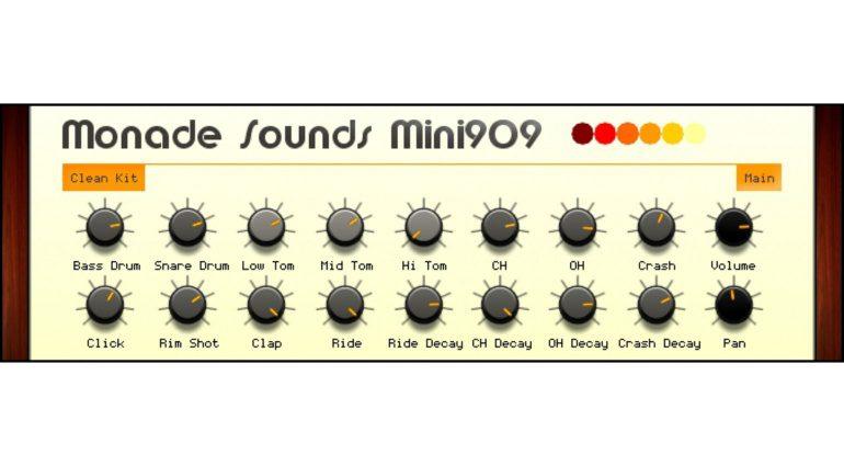 Monade Sounds Pure 909 bringt die TR-909 auf euren Rechner