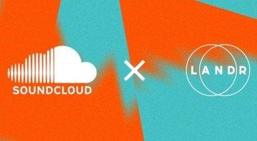 Soundcloud LANDR Partnerschaft