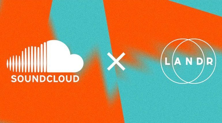 Soundcloud LANDR Partnerschaft