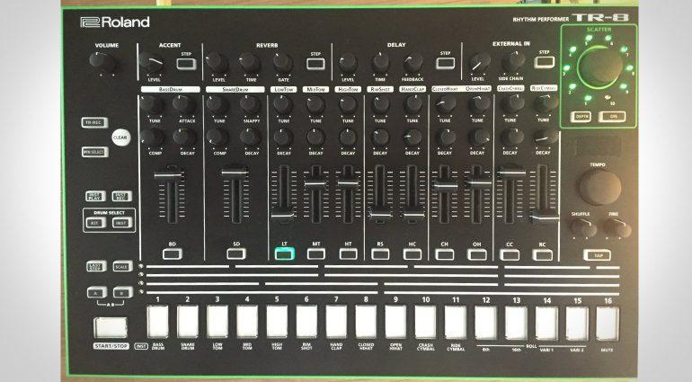 Roland TR-8 Update ist da!