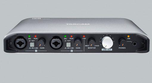 Tascam iXR USB Audiointerface iOS Front