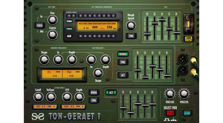 Ton-Geraet 1 (SyS TG-1) - ein C64 SID-Chip Emulator für die
