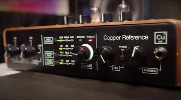 Tracktion Copper Reference CU2 USB Audiointerface Front