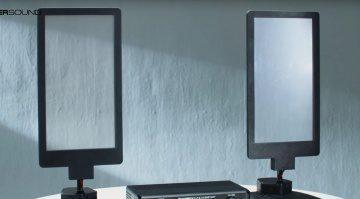 Turtle Beach HyperSound Glass Speaker Front