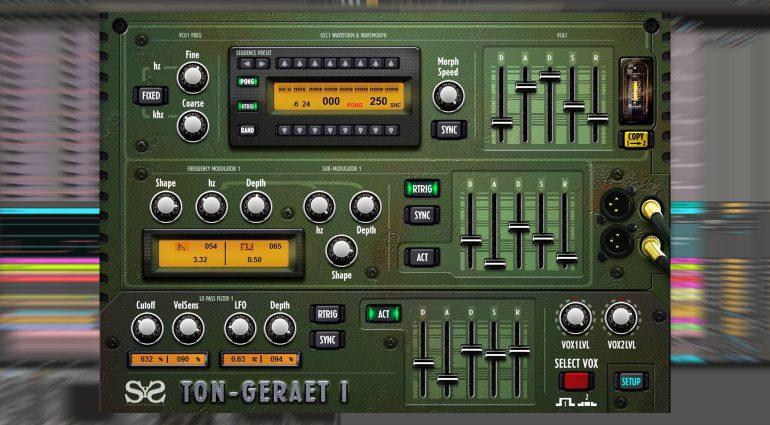 Kostenlos: Ton-Geraet 1 - ein C64 SID-Chip Emulator für die Windows Welt