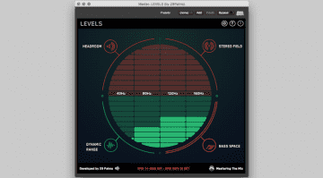 29 Palms Mastering the Mix Levels GUI Bass Space