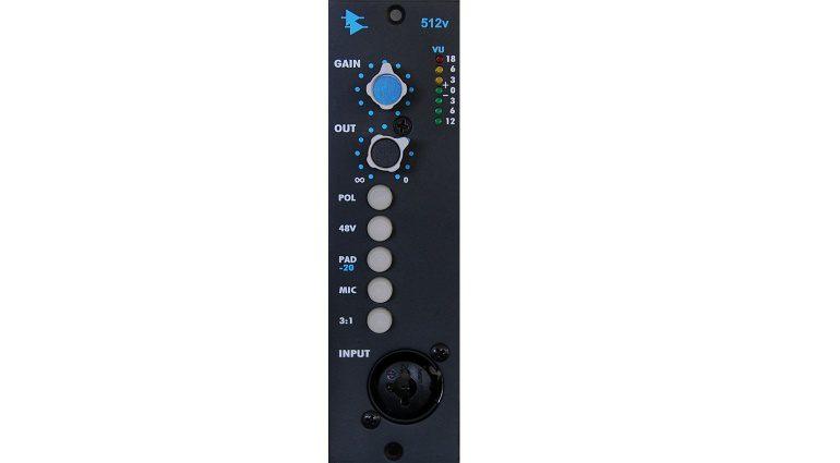 API 512V 500 Modul Mic Line Preamp Front Solo