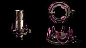 Aston Microphones + Rycote = Custom Shockmount