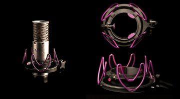 Aston Microphones Custom Shock Mount Front Top