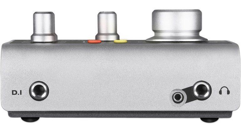 Audient iD4 USB Audiointerface Front Anschluesse