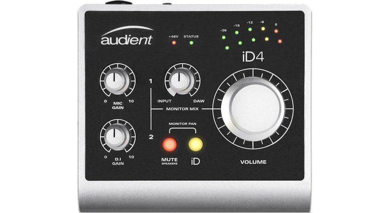 Audient iD4 USB Audiointerface Front