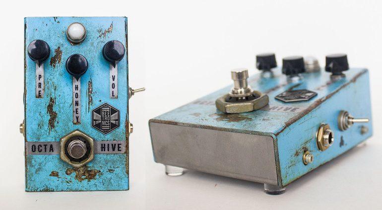 Beetronics OctaHive Fuzz Pedal Front Seite