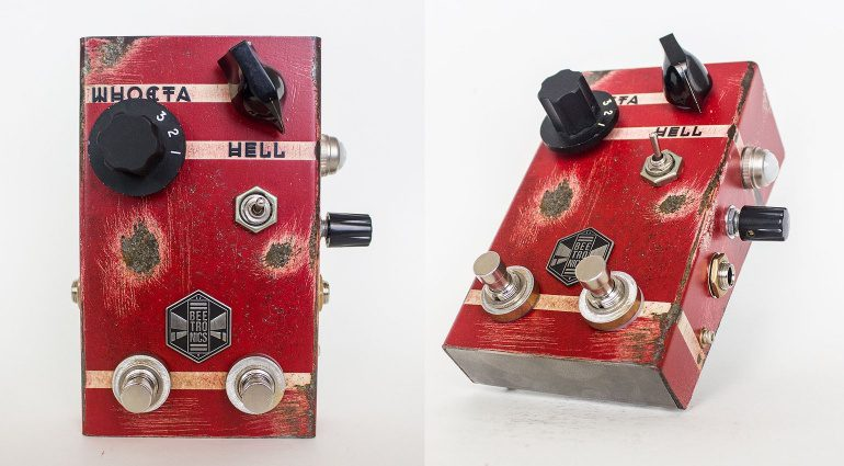 Beetronics WhoctaHell Fuzz Pedal Front Seite