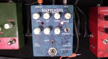 Dwarfcraft Devices Happiness Filter Pedal Front Summer NAMM 2016