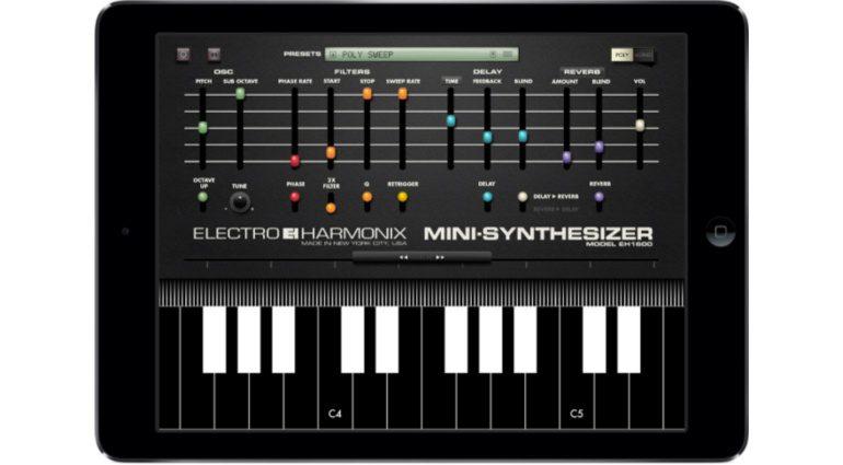 Electro-Harmonix Mini Synthesizer - neuer Klangerzeuger für iOS