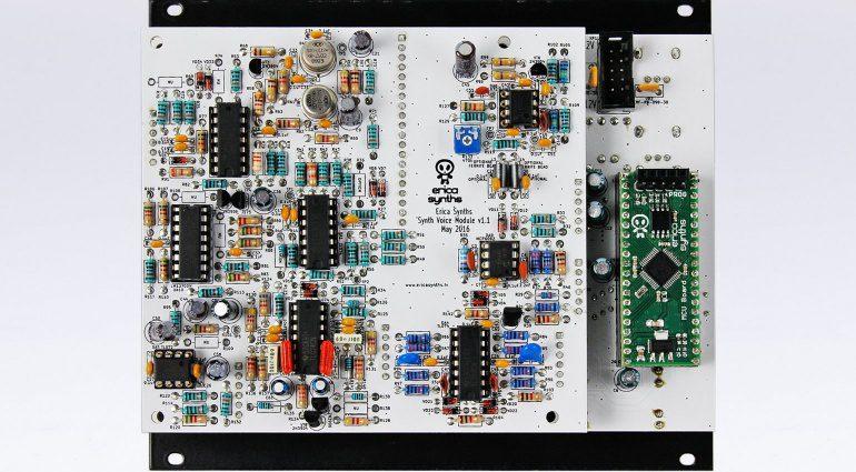 Erica Synth DIY Synth Voice - ein Eurorack Synthesizer Modul zum selbst bauen