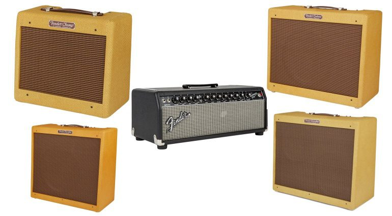 Fender Custom 57 Amp Combo Tweed Champ Twin Pro Deluxe Bassman