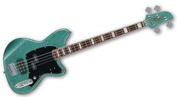 Ibanez Talman Standard Bass TMB310 Turquoise Sparkle Front Total+