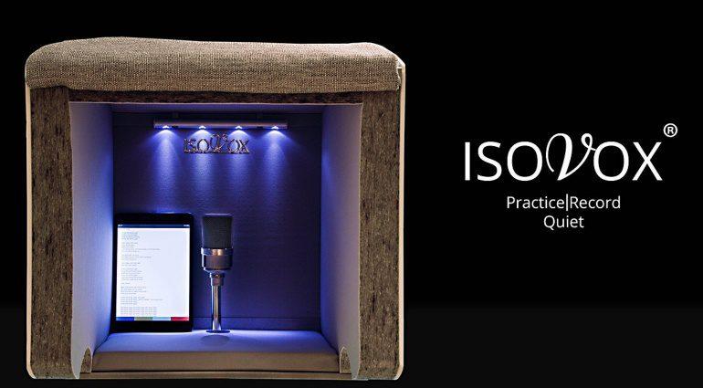 IsoVox - die schwedische Lösung für eine Aufnahmekabine