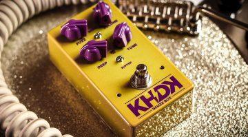 KHDK Electronics Scuzz Box Fuzz Pedal Front 1