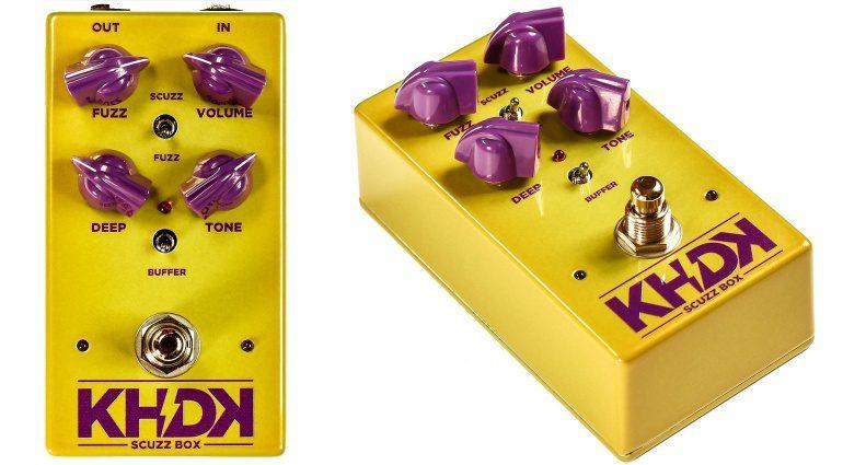 KHDK Electronics Scuzz Box Fuzz Pedal Front Seite