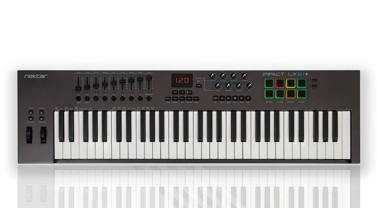 Nektar Impact LX49+ und Impact LX61+ - die neue Generation der MIDI-Controller