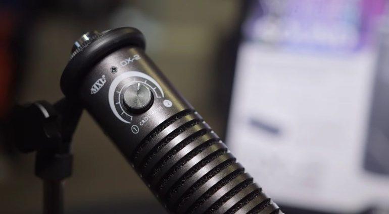 MXL DX-2 Mikrofon Blend Regler