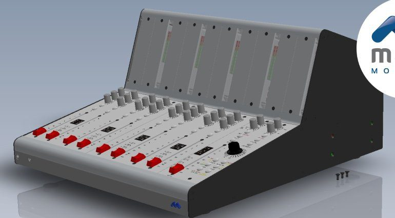 Mana Modular 510 Mixer Console Mockup